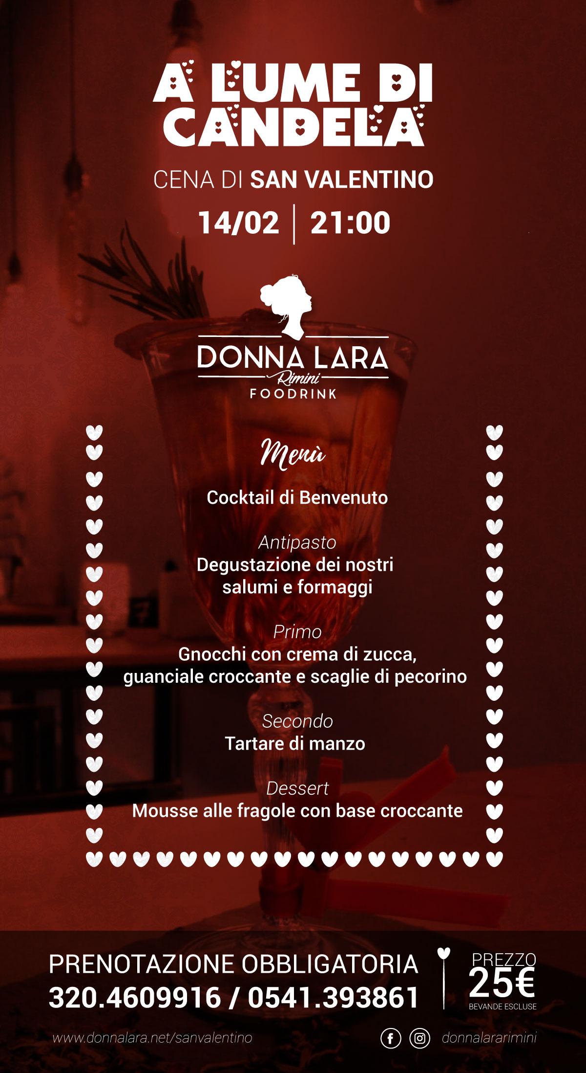 San Valentino Cena a Rimini